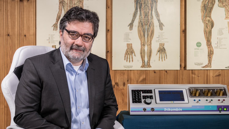Alan Baklayan, Entwickler des TRIKOMBIN