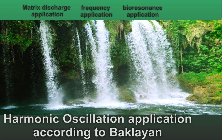 Harmonic Oscillation application according to Baklayan
